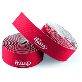 Selle Italia Smootape Controllo Rubans de cintre 35x1800mm, red